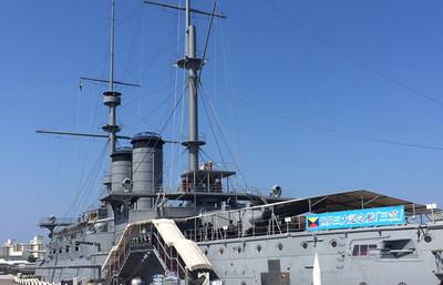 クロスカルチャーの街・横須賀で、記念艦「三笠」の全貌を目にする旅