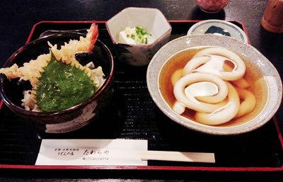 京都・北野名物、たわらやの一本うどん【みんなで楽しむご当地グルメ】