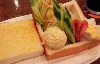 京都・河原町今出川、コーヒーハウスマキのモーニング【みんなで楽しむご当地グルメ】