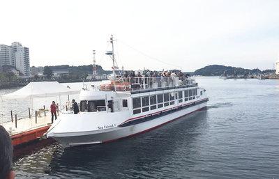 横須賀軍港めぐり、艦隊司令部の街で迫力ある艦艇の数々を見学する日本唯一のツアー旅