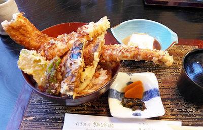 茨城・大洗名物、豪海天丼【みんなで楽しむご当地グルメ】