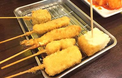 大阪・新世界、だるまの串かつ【みんなで楽しむご当地グルメ】