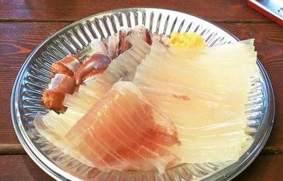 函館、駅二市場の朝市でイカ釣り体験【みんなで楽しむご当地グルメ】