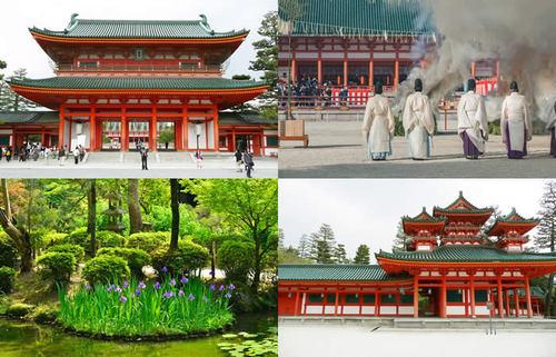 平安文化を今に伝える平安神宮、京都千年の歴史と見所がわかる平安神宮の楽しみ方