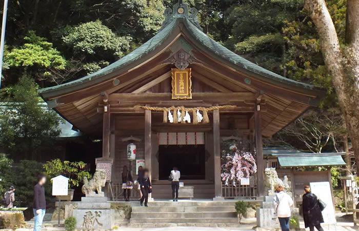 縁結びの竈門神社
