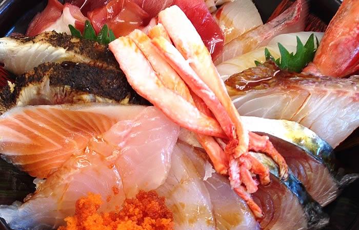 鯛喜の豪華な海鮮丼②