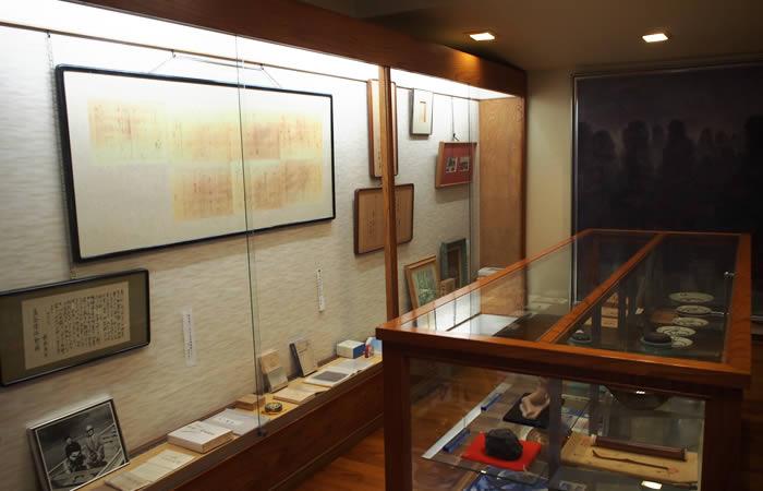 館内の陳列品たち