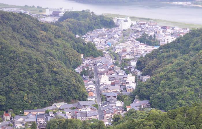 「湯島村」と呼ばれていた城崎温泉