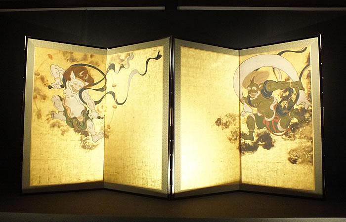 建仁寺の象徴、国宝「風神雷神図屏風」