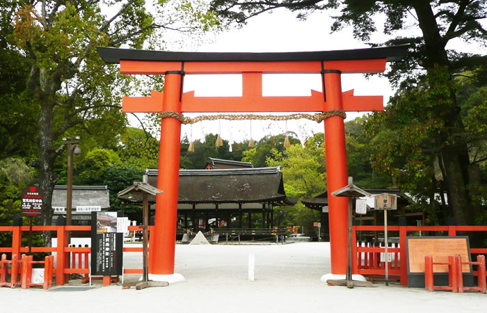 上賀茂神社の鳥居