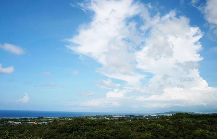 沖縄随一とも言われる御内原からの眺望