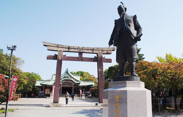 大阪城内の豊國神社