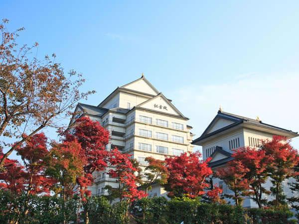 秋保グランドホテルの外観