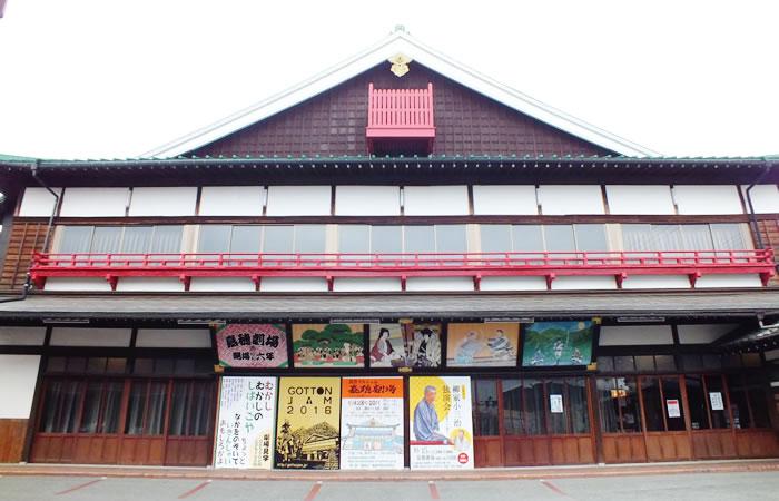 歌舞伎様式の嘉穂劇場の建物