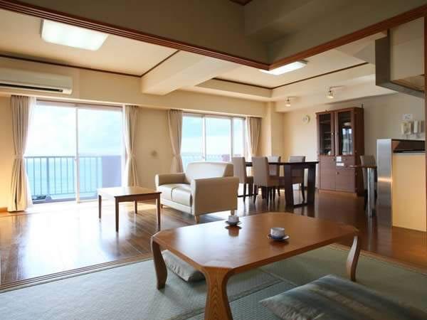 リゾートマンションのような客室