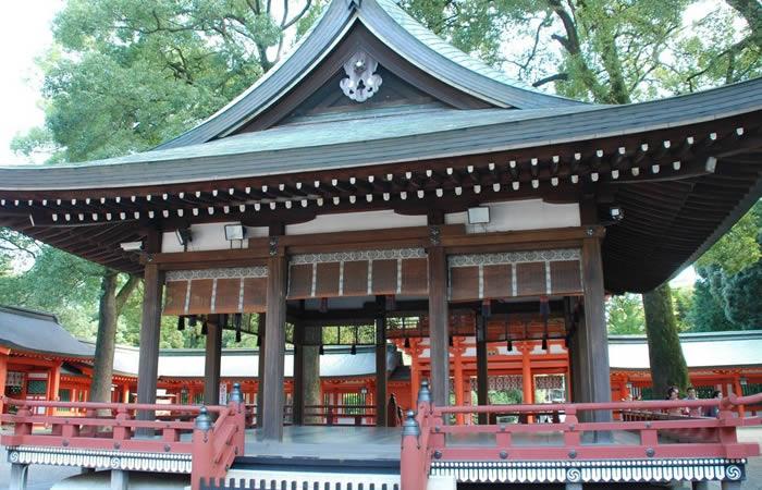 氷川神社の舞殿