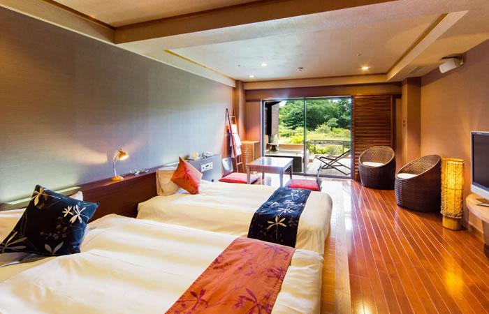 ホテルグリーンプラザ箱根の客室例