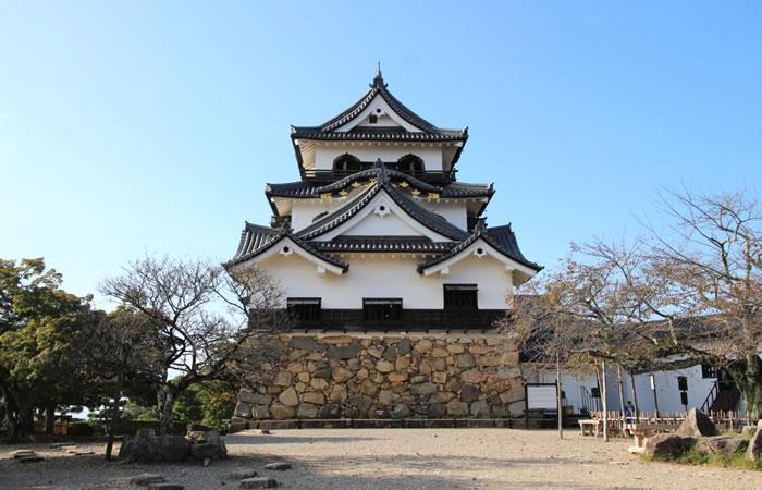 彦根城の国宝天守