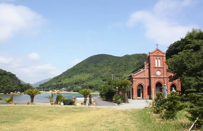 明治41年建築の堂崎天主堂