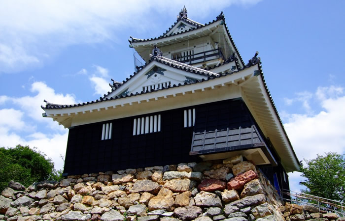 3層4階の浜松城天守
