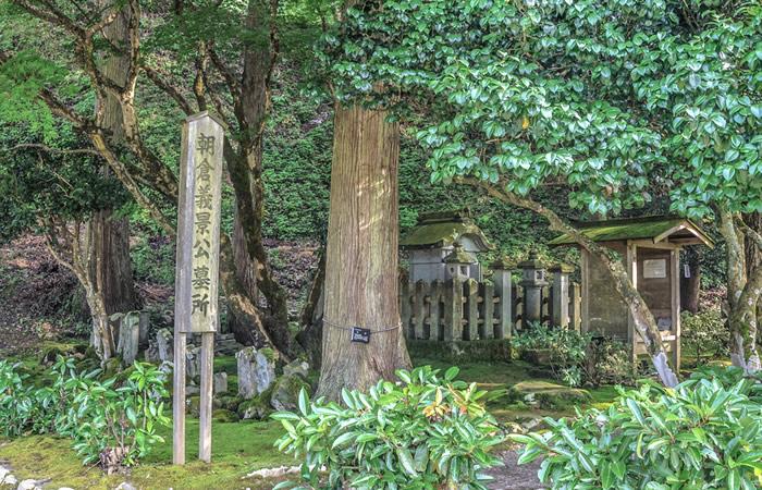 朝倉義景公の墓所
