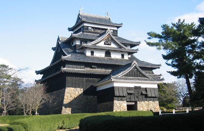 松江城の国宝天守
