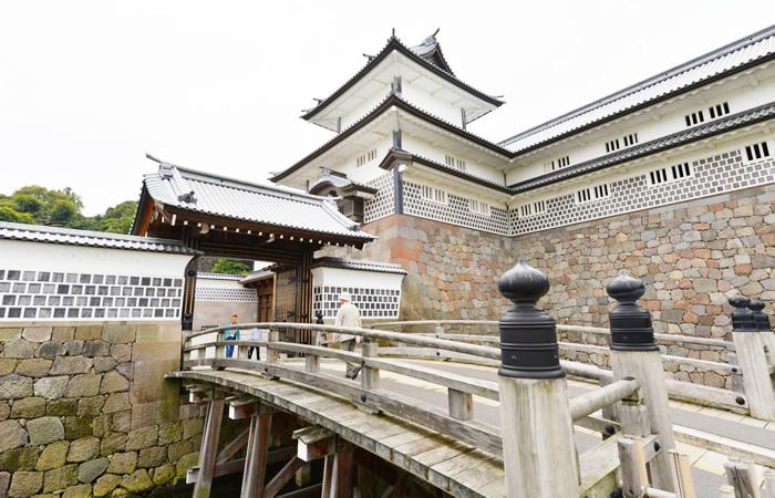 金沢城の橋爪門