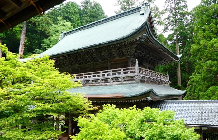 永平寺の山門